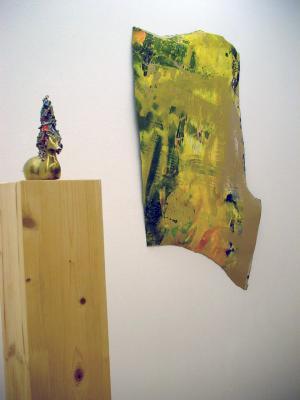 Merrick-Schiess - Galerie Susanna Kulli - Brass Sculptures / Fetzen - 2009 - 1/3