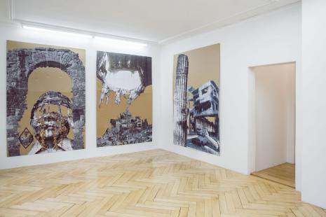 Thomas Hirschhorn_A RUIN IS A RUIN-Galerie_Susanna Kulli_2016