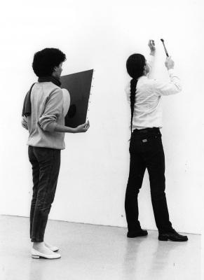 John Armleder_Galerie Susanna Kulli_1983