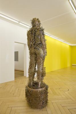 Thomas Hirschhorn_the subjecter_Olivier Mosset_Galerie_Susanna Kulli_Zurich