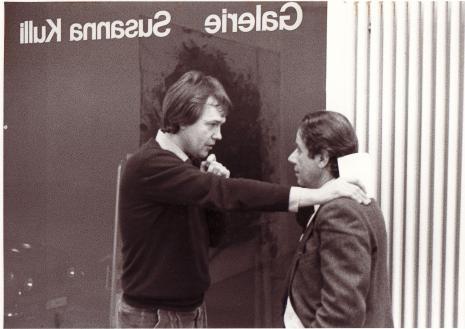 Giuseppe Spagnulo_Walter Storms_Galerie Susanna Kulli_1984