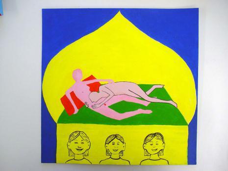 Bertold Stallmach - Galerie Susanna Kulli - Warten auf den 9-Uhr Witz - 2010 - 6/7