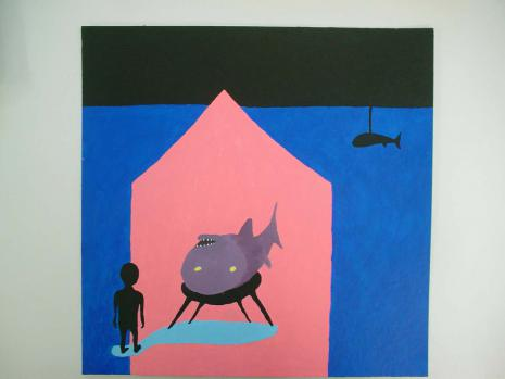 Bertold Stallmach - Galerie Susanna Kulli - Warten auf den 9-Uhr Witz - 2010 - 3/7