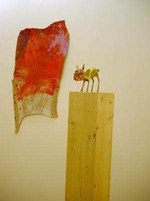 Merrick-Schiess - Galerie Susanna Kulli - Brass Sculptures / Fetzen - 2009 - 2/3
