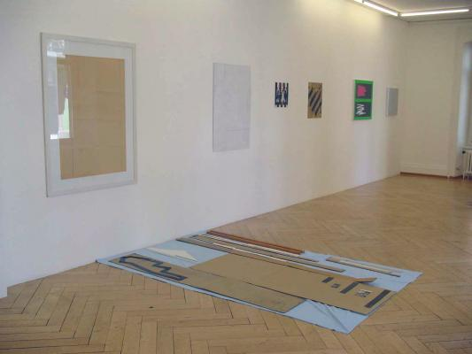 Armleder-Hirschhorn-Khatami-Manz-Rockenschaub - Galerie Susanna Kulli - parallel lines - 2011 - 5/6