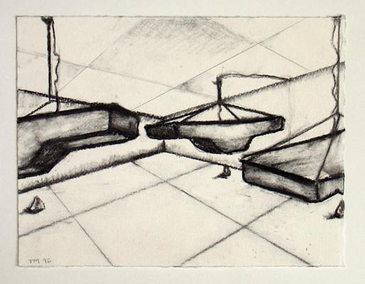 Merrick - Quartz Mouvement / working drawings 1990-1997 - Galerie Susanna Kulli - 2007 - 5/5