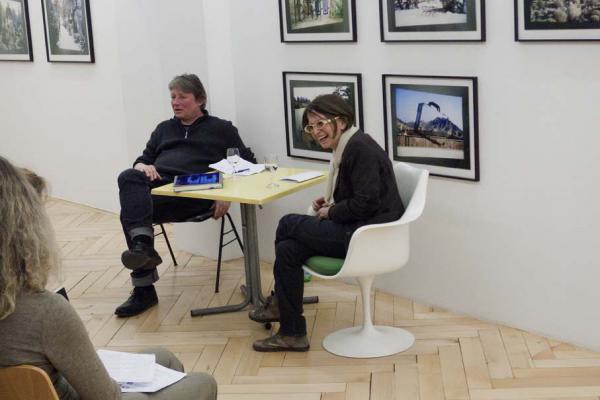 Silvie Defraoui_Galerie_Susanna Kulli_Hans-Rudolf Reust_Künstlergespräch
