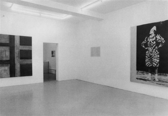 Armleder_Federle_Merz_Spaeti_Spagnulo_Wizemann_Susanna Kulli - untitled 1983/84