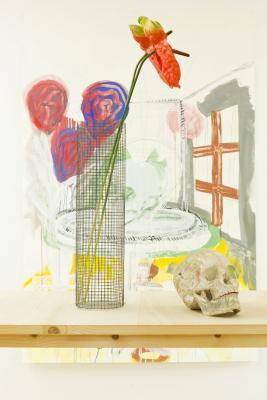 Michael Noser - Galerie Susanna Kulli - Jardin des Plantes - 2014 - 4/6