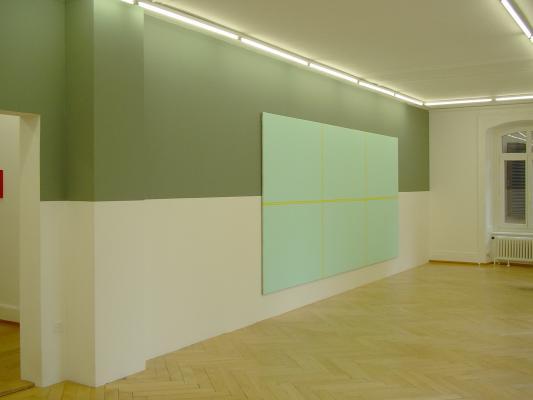 Olivier Mosset_Galerie Susanna Kulli_2004
