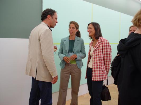 Galerie Susanna Kulli_Olivier Mosset_2004