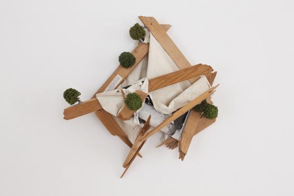 Thom Merrick - Olivier Mosset - Galerie Susanna Kulli - 2012 - 2/2