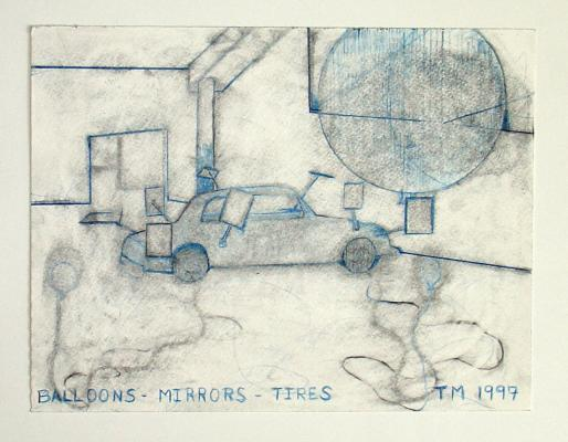 Thom Merrick - Galerie Susanna Kulli - Die Linie _ The Line - 2013 - 3/5