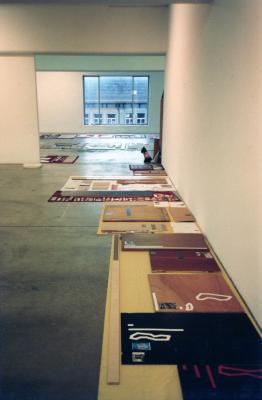 Thomas Hirschhorn_Galerie_Susanna Kulli_1993