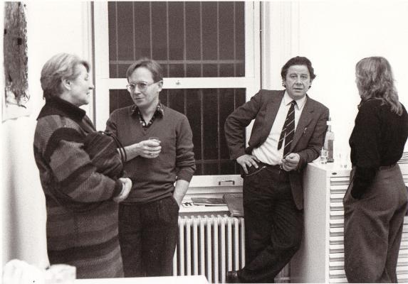 Galerie_Susanna Kulli_Marco Gastini_1984_Eröffnung