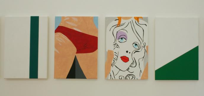 Crotti / Manz - Galerie Susanna Kulli - Malerei / Zeichnung - 2005 - 4/4