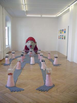 Bertold Stallmach - Galerie Susanna Kulli - Warten auf den 9-Uhr Witz - 2010 - 1/7